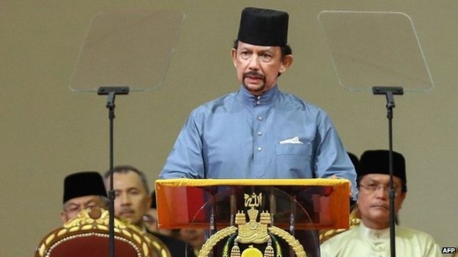 Brunei Darussalam Sultan Implimenting Sharia Law