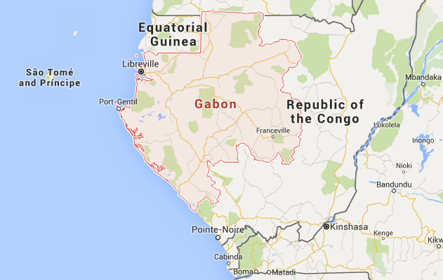 Muslimworldlinkcom Economy Business Education And Tourism - Gabon map