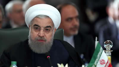 President Rouhani in 13th ECO summit 2017