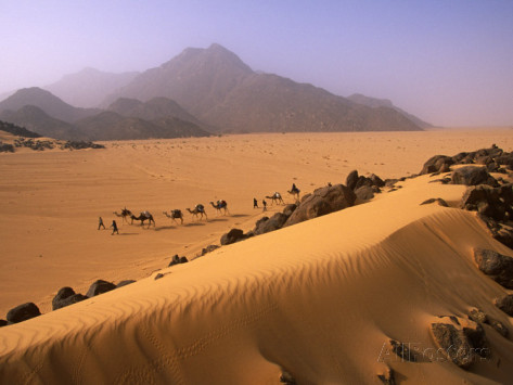 Air Mountains and Tenere Desert