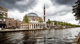Turkish Community built Amsterdam Mosque