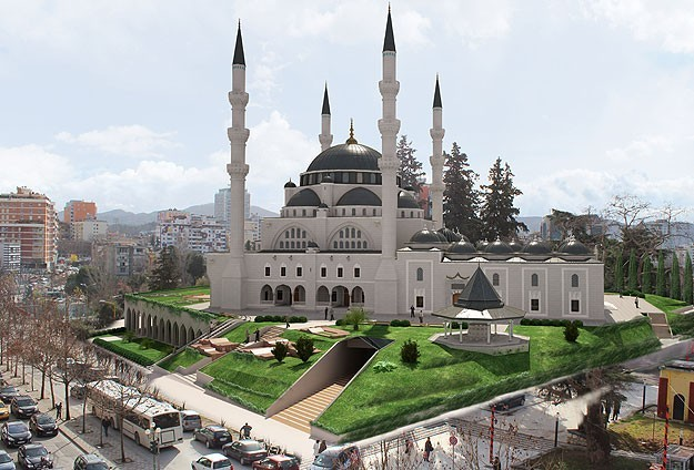 New Mosque in Tirana