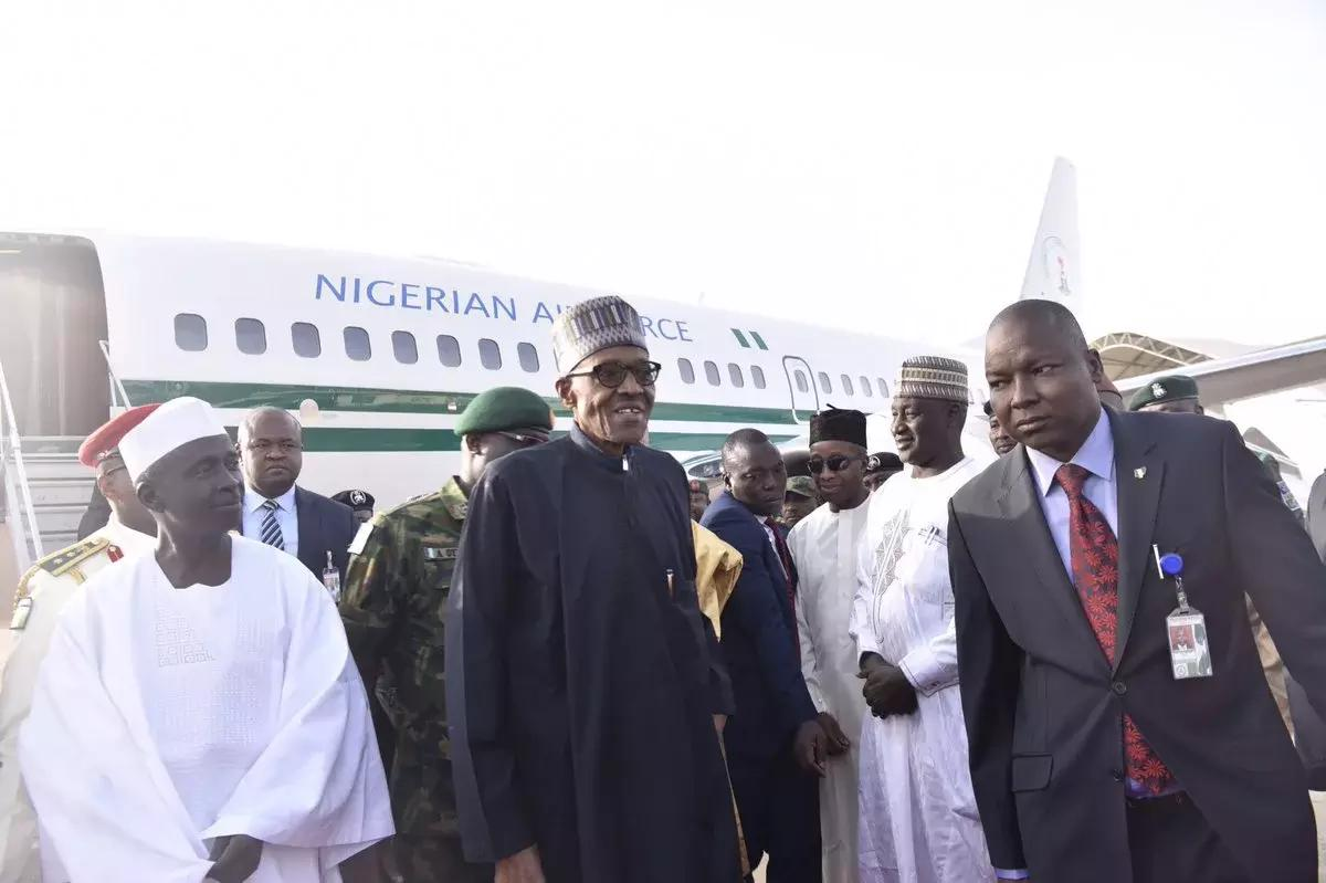 President Buhari return
