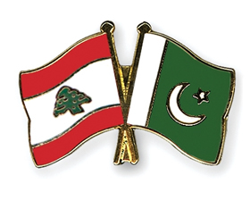 Flag Lebanon Pakistan