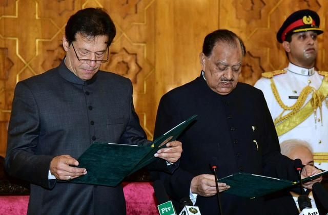 Imran Khan sworn in as Prime Minister