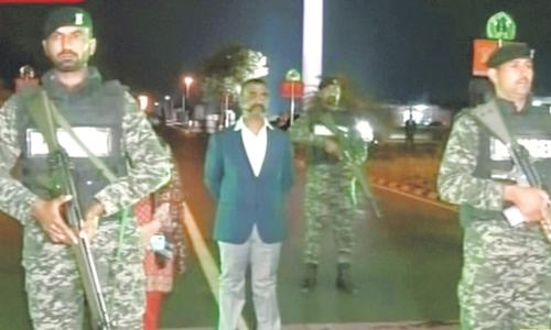 Pakistan India Pilot returned back